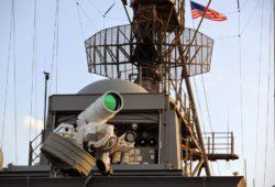 Военные США испытали лазерное оружие в Персидском заливе