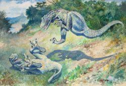 Палеоарт. История динозавров в искусстве