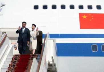 Путин назвал визит Си Цзиньпина главным событием года