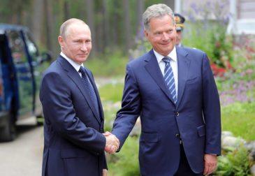 Санкции для всех: встреча Владимира Путина и Саули Ниинистё