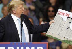 «Стена Трампа» обойдется конгрессу США в $1,6 млрд