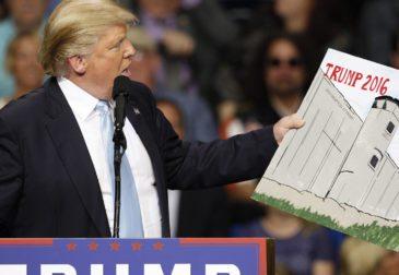 """""""Стена Трампа"""" обойдется конгрессу США в $1,6 млрд"""