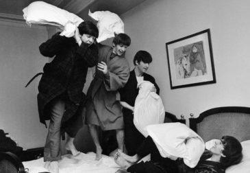 Винтажные фотографии всемирного тура Beatles
