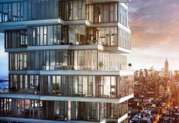 Пентхаус в Нью-Йорке за a $17.75 на 52 этаже