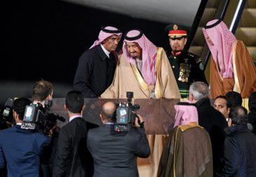 Первый в истории визит короля Саудовской Аравии в Россию