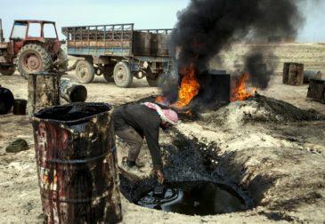 США взяли под контроль крупнейшее в Сирии месторождение нефти