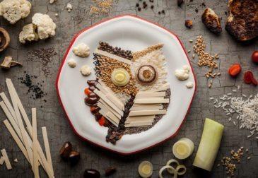 Искусство в еде