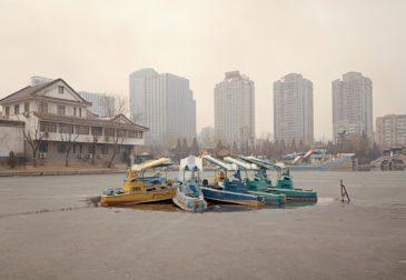 Пустые китайские парки развлечений