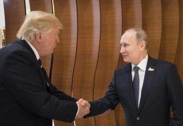 Рекордная по краткости встреча Путина и Трампа во Вьетнаме