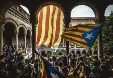 Россию обвинили в поддержке Каталонии