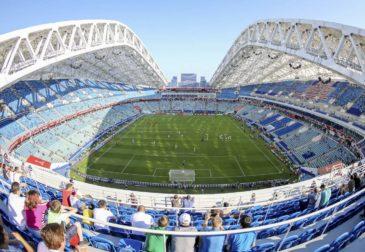 Тур по стадионам чемпионата мира по футболу 2018 года