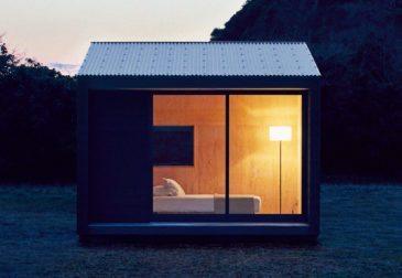 Крошечные, укомплектованные и уютные дома MUJI