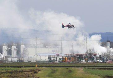 Взрыв на хабе в Австрии прервал газовые поставки в страны Европы