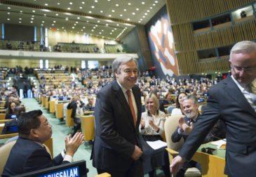 Генсек ООН призвал мир к единству в Новом Году