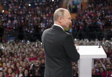 Песков назвал Путина абсолютным лидером политического олимпа