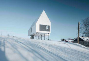 Уютный и минималистичный дом в Квебеке