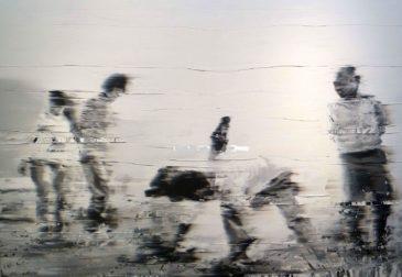 Глитч эффект в картинах Энди Денцлера
