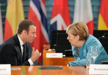 Макрон и Меркель написали Путину письмо с просьбой поддержать резолюцию по Сирии
