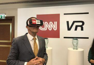 CNN запустил платформу виртуальной реальности