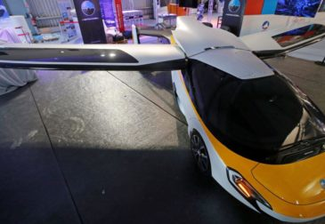 Летающие такси будущего от Google