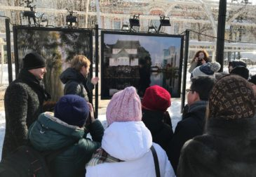 Мицубиси Электрик финансирует фотопроект на Тверском бульваре в Москве