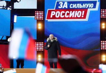 Путин установил рекорд на выборах по абсолютному числу голосов