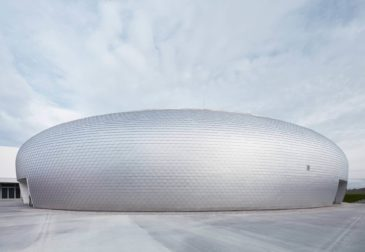 Купольная конструкция спортивного зала