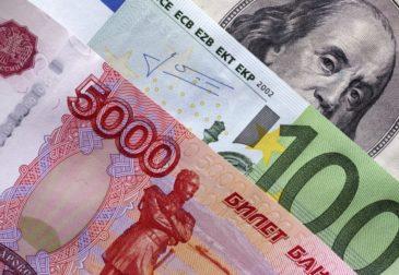 WSJ: курс евро может взлететь до 100 рублей