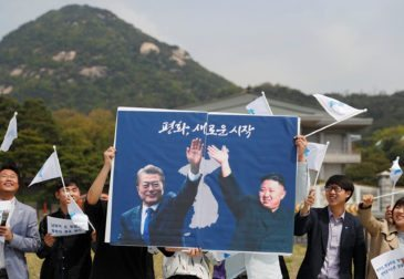 """Ким Чен Ын призвал к """"желанному миру"""""""