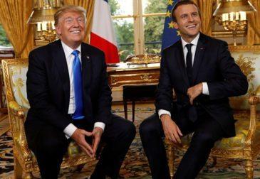 Макрон призвал Трампа заключить новую сделку с Ираном
