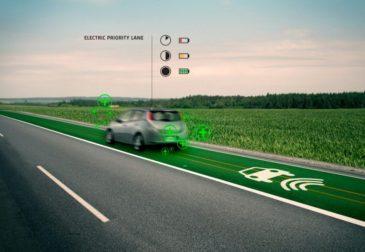 Первая в мире дорога, заряжающая электромобили на ходу