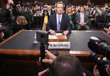 Цукерберг дал показания в Конгрессе США