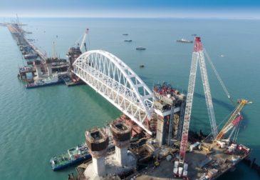 Движение автомобилей по Крымскому мосту стартует 16 мая