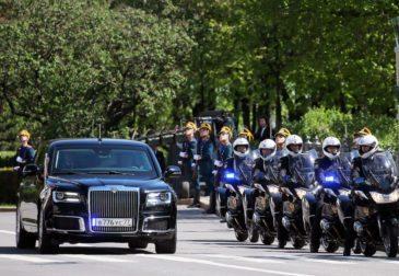 Инаугурация Путина: сильный президент на стильном лимузине