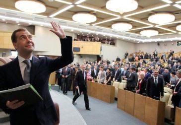 «Новый» премьер-министр России на посту