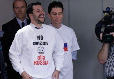 Правительство Италии требует немедленной отмены антироссийских санкций