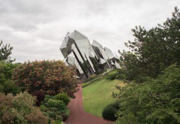 Захватывающий нео-футуристический парк