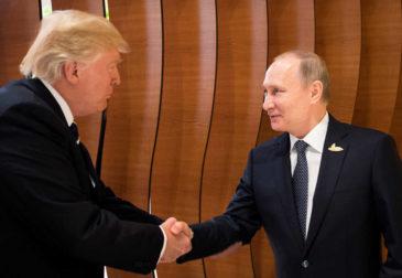 Первая официальная встреча Путина и Трампа пройдет в Хельсинки