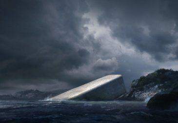 Ресторан под водой в Норвегии