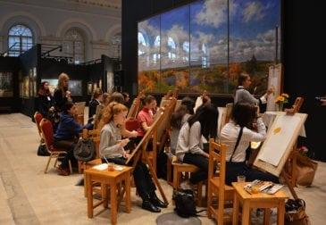 В Школе акварели Сергея Андрияки пройдёт выставка художников школы Б.А. Дехтерева