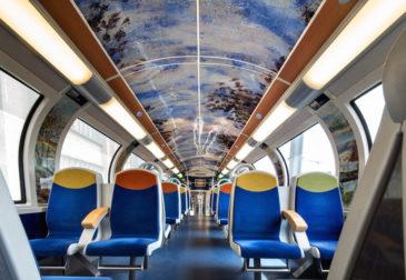 Выставка импрессионизма в Парижском поезде