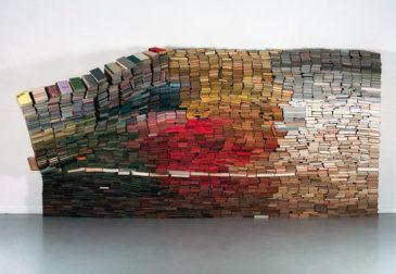Стена книг Ануки Круитоф