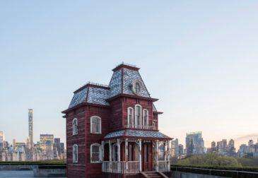 «Переходный объект» на крыше музея