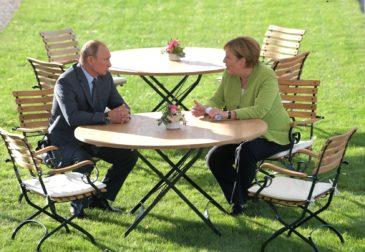 Путин и Меркель нашли точки соприкосновения по ключевым международным вопросам