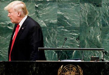 Речь Трампа вызвала смех у мировых лидеров