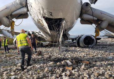 Нештатная посадка привела к катастрофе самолета в Сочи