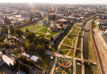 Тульская набережная от Wowhaus — новый центр притяжения в России