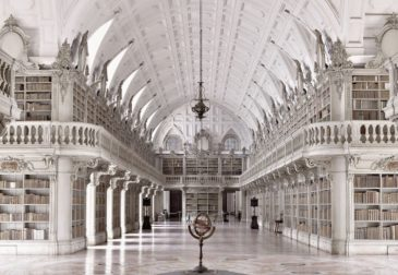 Величественная красота библиотек мира