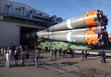 Аварийный полет российского космического корабля