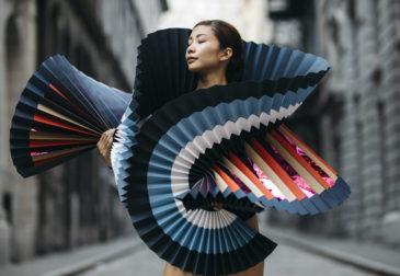 Необычные бумажные наряды балерин в проекте PLI.Ē